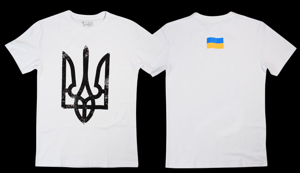 9ae5cd1471a1 Футболка Герб Украины и флаг