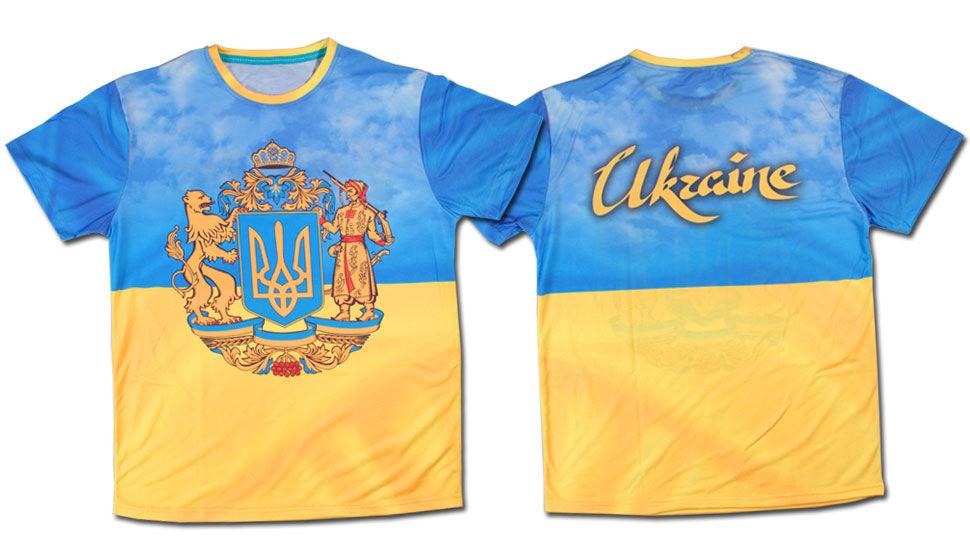 238fea40320b Футболка Украина полный герб