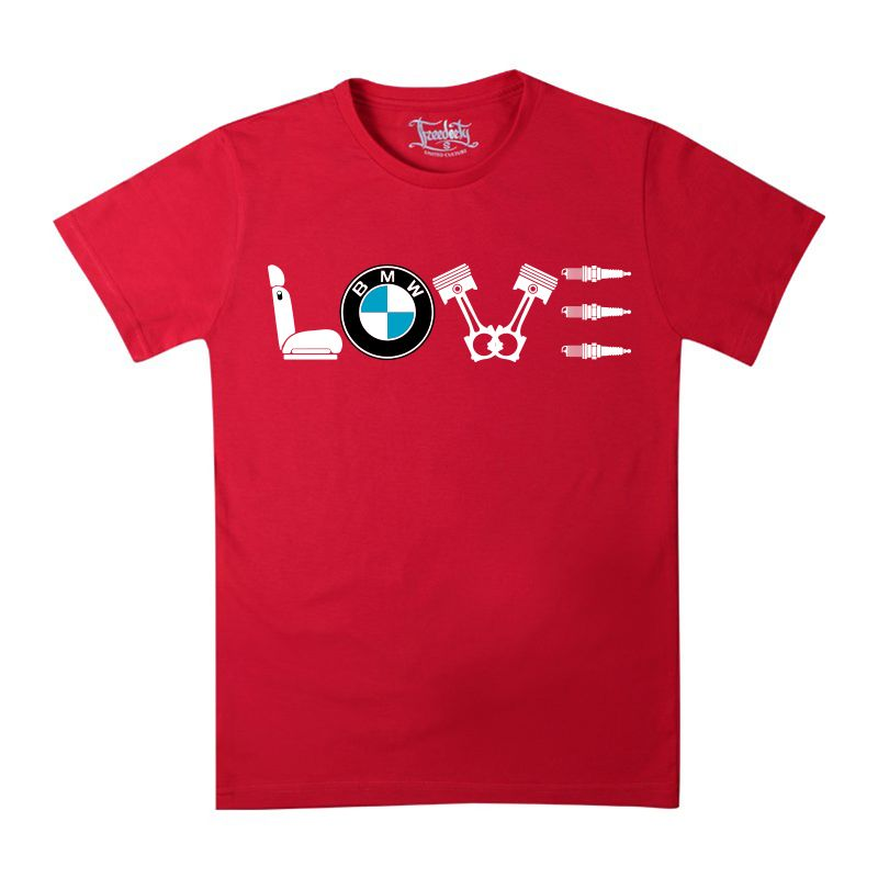 Футболка Love BMW купить в Киеве b906d46a20a7c