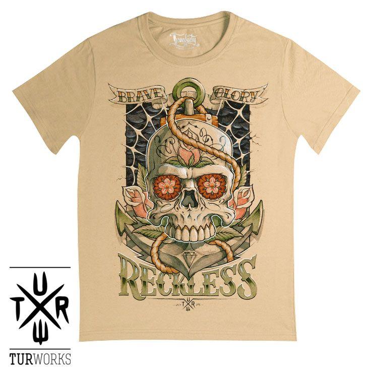 Футболка Reckless купить в Киеве 1bb0a30f22095