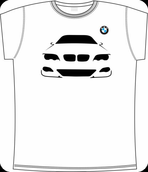 Футболка bmw 5 (Белая) купить в Киеве 292e36897819e